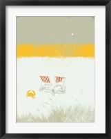 Framed Beach Abstract I