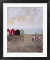Framed Beach Abstract III