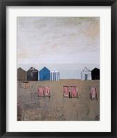Framed Beach Abstract IV