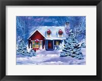 Framed Christmas at Home I