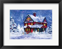 Framed Christmas at Home II
