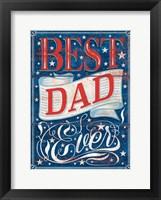 Framed Best Dad Ever