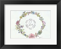 Framed Be Wreath