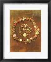 Framed Floral Wreath