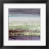 Purple Rain I Framed Print
