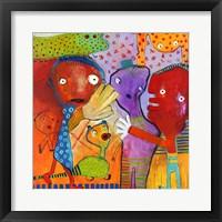Framed Colourfull Mars Men II