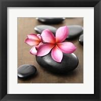 Framed Zen Pebbles 3