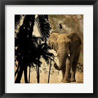 Framed Mighty Elephant 2