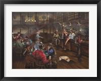Framed Old West Saloon