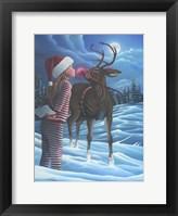Framed Rudolph Kiss