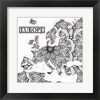 Framed Europe Bloom