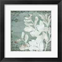 Framed Postal Floral Silo Mate