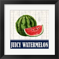 Framed Juicy Watermelon
