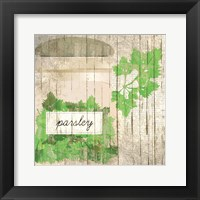 Framed Parsley