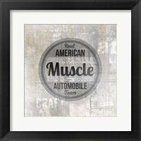 Framed American Garage 2