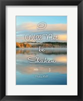 Framed Not Be Shaken