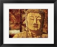 Framed Find Golden Serenity