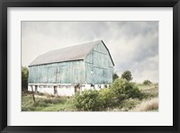 Framed Late Summer Barn I Crop