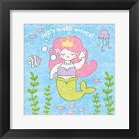 Framed Magical Mermaid I