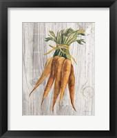 Framed Market Vegetables I