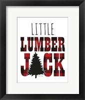 Framed Little Lumberjack
