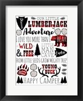 Framed Lumberjack Adventure