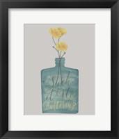 Framed Buttercup II