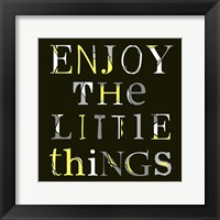 Framed Little Things