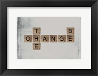Framed Be the Change