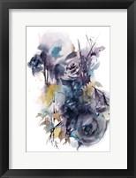 Framed Midnight Blue
