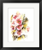 Framed Pansy Patch