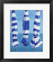 Framed Three Umbrellas