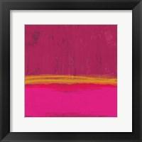 Framed Undaunted Pink