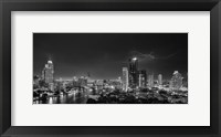 Framed Bangkok Lightning