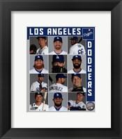 Framed Los Angeles Dodgers 2017 Team Composite