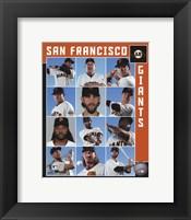 Framed San Francisco Giants 2017 Team Composite