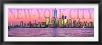 Framed Manhattan at Sunrise