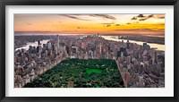 Framed New York & Central Park