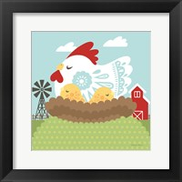 Framed Little Farm II