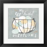 Framed Fresh Eggs III