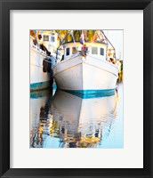 Framed Shrimp Boats Savannah