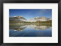 Framed Petit Lake Reflection
