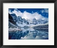 Framed Moraine Lake