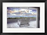 Framed Swing At The Beach