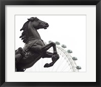 Framed London Eye I