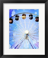 Framed Carnival Blues I