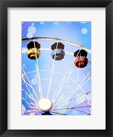 Framed Carnival Blues III