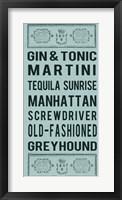 Framed Cocktails