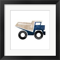 Framed Truck With Paint Texture - Part I
