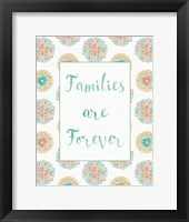 Framed Rainbow Seeds Families